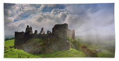 Carreg Cennen Castle 2 Beach Towel