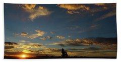 Beach Towel featuring the photograph Carry On Sunrise by DeeLon Merritt