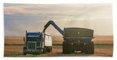 Cart Into Truck Beach Sheet