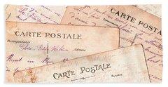 Cartes Postales Beach Sheet