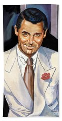 Cary Grant Beach Towel by Spiros Soutsos