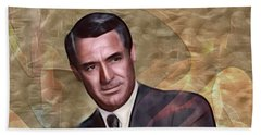 Cary Grant - Square Version Beach Towel