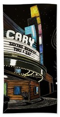 Cary Theater Beach Towel