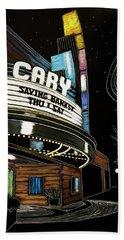 Cary Theater Beach Sheet
