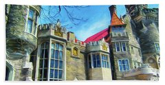 Casa Loma Series 2 Painted Y1 Beach Towel
