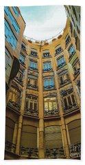Beach Sheet featuring the photograph Casa Mila - Barcelona by Colleen Kammerer