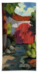 Casa Tecate Gate Beach Towel