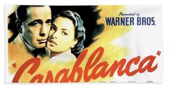 Casablanca Beach Sheet by Movie Poster Prints