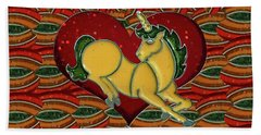 Casablanca Unicorn Dreams Beach Towel