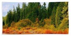 Cascade Autumn Beach Sheet