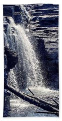 Beach Towel featuring the photograph Cascade by Kendall McKernon