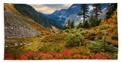 Cascade Pass Fall Beach Towel