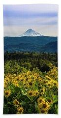 Cascade Spring Beach Towel