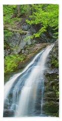 Cascade Waterfalls In South Maine Beach Towel