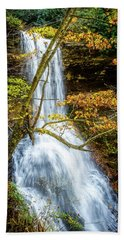 Cascades Deck View Beach Towel