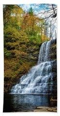 Cascades Lower Falls Beach Towel