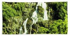 Cascading Falls Beach Towel