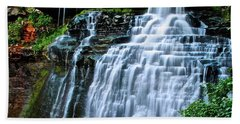 Cascading Falls Of Brandywine Beach Towel