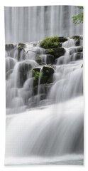 Cascading Mirror Lake Falls Beach Towel