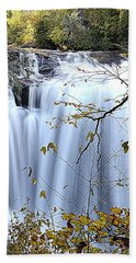 Cascading Water Fall Beach Towel