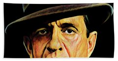 Cash With Hat Beach Towel