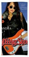Cassandra Wong, Rolling Stone,  Wayne's World, Tia Carrere, Aurora, Il, 1992, Audition Fender  Beach Towel