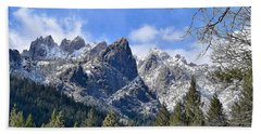 Castle Crags Beach Towel