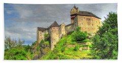 Castle Czech Republic Beach Sheet by Yury Bashkin