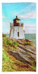 Castle Hill Lighthouse Beach Towel