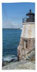 Castle Hill Lighthouse Newport Rhode Island Beach Sheet
