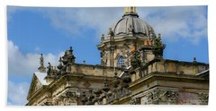 Castle Howard Roofline Beach Towel
