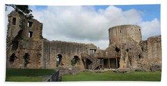 Castle Ruins Beach Sheet