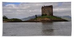 Castle Stalker Beach Towel