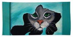 Cat-fish Beach Towel