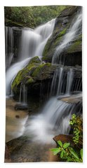 Cat Gap Loop Trail Waterfall Beach Towel