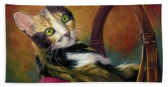 Calico Cat Beach Towels