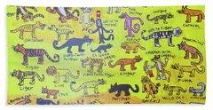 Cat Styles Beach Sheet