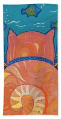 Cat Tales Beach Towel