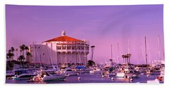 Catalina Casino Beach Towel by Marie Hicks