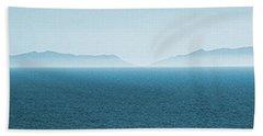 Catalina Island Large Panoramic Color Fine Art Print On Metal Beach Sheet by Ben and Raisa Gertsberg