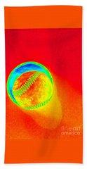 Heat Map Baseball Catch Me If You Can Beach Sheet