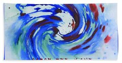 Catch The Wave Beach Towel