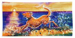 Catching The Sun Beach Towel