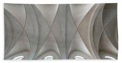Catedral De La Purisima Concepcion Ceiling Beach Sheet