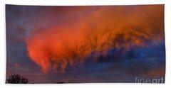 Caterpillar Cloud In The Sky Beach Sheet