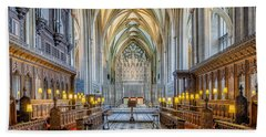 Cathedral Aisle Beach Towel