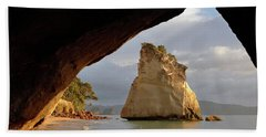 Cathedral Cove Beach Towel