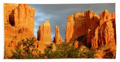 Cathedral Formation Beach Towel