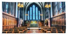 Cathedral Glow Beach Towel