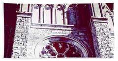 Cathedral In Archangel Glow Beach Towel